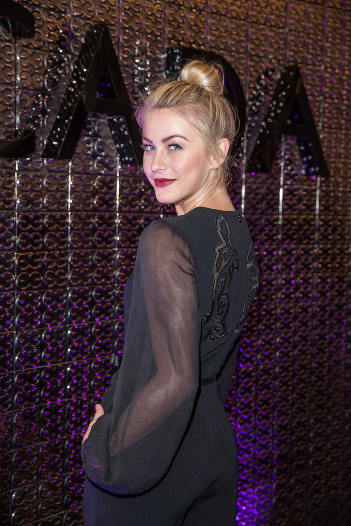 Up Your Game With Julianne Hough's French Braided Top Knot