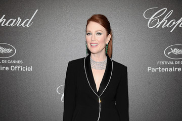 Julianne Moore Chopard Secret Night - Arrivals - The 71st Annual Cannes Film Festival