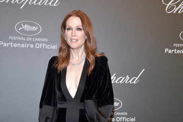 Julianne Moore Chopard Space Party - Photocall - The 70th Cannes Film Festival