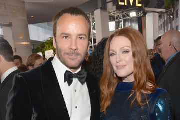 Julianne Moore Tom Ford FIJI Water at the 73rd Annual Golden Globe Awards