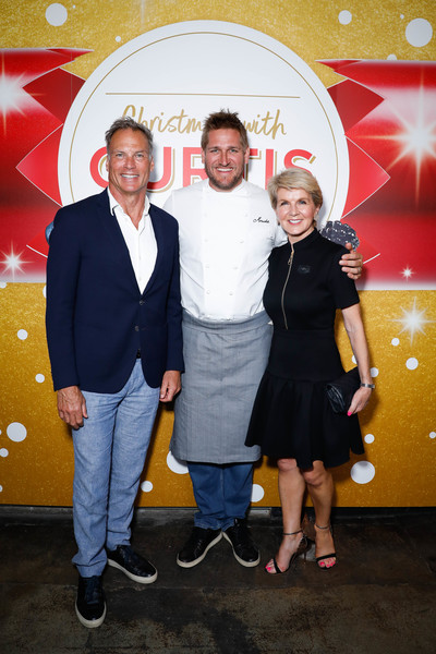 Curtis Stone Unveils Coles' Christmas Stone