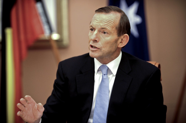 Tony Abbott's Government Sworn in at Government House