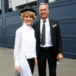 Julie Bishop Celebrities Attend Derby Day