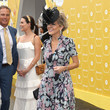 Julie Bishop Celebrities Attend Melbourne Cup Day