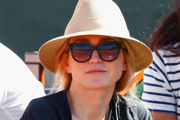 Julie Gayet 2015 French Open - Day Twelve