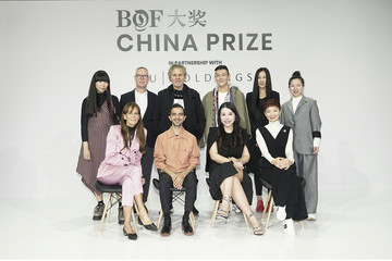 Julie Gilhart Imran Amed The Business Of Fashion Presents The First BoF China Prize During Shanghai Fashion Week