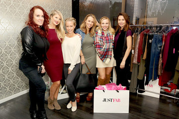 Julie Solomon JustFab And ShoeDazzle Get Glam For The Holidays Event