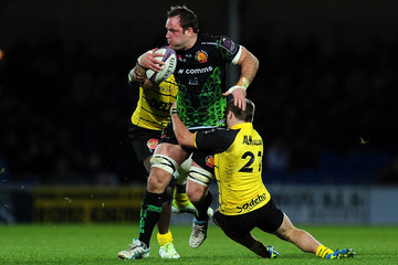 Julien Berger Exeter Chiefs  v  La Rochelle - European Rugby Challenge Cup