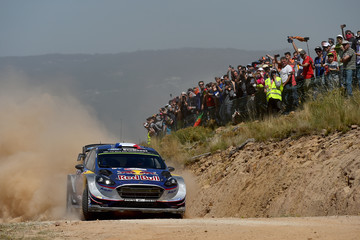 Julien Ingrassia FIA World Rally Championship Portugal - Day Two
