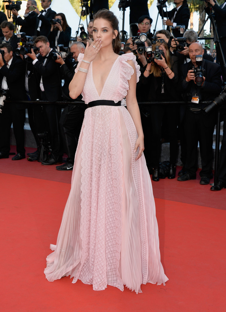Barbara palvin photos photos 39 julieta 39 red carpet arrivals the 69th annual cannes film - Barbara palvin red carpet ...