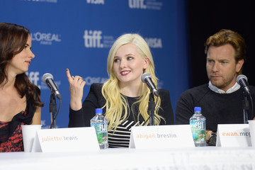 Juliette Lewis Abigail Breslin 'August: Osage County' Press Conference in Toronto
