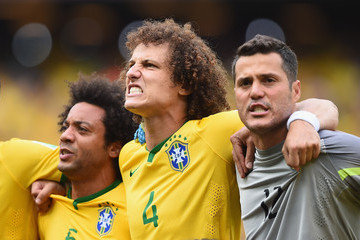 Julio Cesar David Luiz Brazil v Mexico: Group A