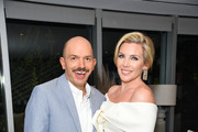 """Paul Scheer and June Diane Raphael attend her new book release """"Represent The Woman's Guide To Running For Office And Changing The World"""" at The Jane Club on September 04, 2019 in Los Angeles, California."""
