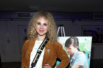 Juno Temple LA Galaxy Star Robbie Rogers Hosts the World Wide Orphans Foundation Annual Night Of Play Charity Event in Los Angeles