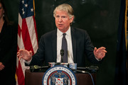 Manhattan District Attorney Cy Vance speaks at a press conference at New York City Criminal Court following the conclusion of the Harvey Weinstein trial on February 24, 2020 in New York City. A jury found Weinstein guilty of both rape and criminal sex act, convicting him on two of five charges in a case closely connected to the ongoing #MeToo movement.