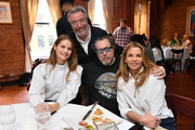 (L-R) Louise Kugelberg, Drew Nieporent, Julian Schnabel, and Jenny Lumet attend the 2019 Tribeca Film Festival Jury Lunch at Tribeca Grill Loft on April 25, 2019 in New York City.