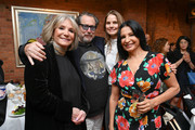 (L-R) Sheila Nevins, Julian Schnabel, Louise Kugelberg, and Kathrine Narducci attend the 2019 Tribeca Film Festival Jury Lunch at Tribeca Grill Loft on April 25, 2019 in New York City.