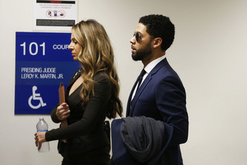 Jussie Smollett Jessie Smollett Returns To Court To Enter Formal Plea