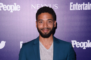 Jussie Smollett 'Entertainment Weekly' and 'People' Celebrate The New York Upfronts - Arrivals
