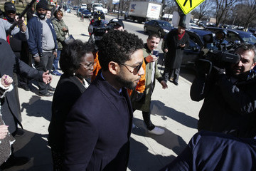 Jussie Smollett Jussie Smollett Outside Of Court After All Charges Dropped Against Him