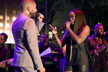Jussie Smollett Television Academy Event For 'Empire' - A Performance Under The Stars at the Grove