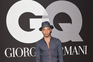 Jussie Smollett GQ and Giorgio Armani Grammy Afterparty