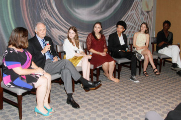 Justice Smith Analisa Gutierrez Premiere Screening Of The HBO Special Alan Alda: YoungArts MasterClass With Discussion By Alda And YoungArts Alumni