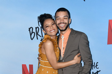 """Justice Smith Jaz Sinclair Special Screening Of Netflix's """"All The Bright Places"""""""