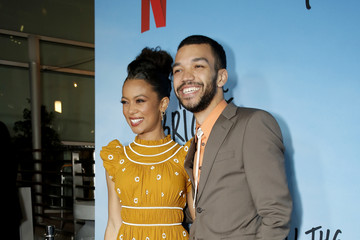"""Justice Smith Jaz Sinclair Netflix Premiere of """"All the Bright Places"""""""