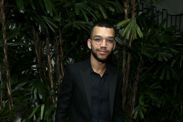"Justice Smith Vanity Fair And Saint Laurent Celebrate The Cast Of ""Parasite"""