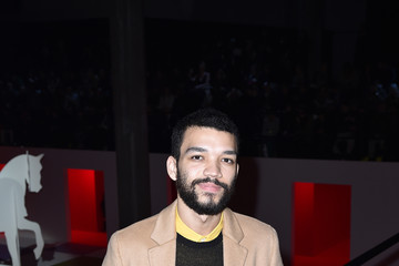 Justice Smith Prada Fall/Winter 2020/21 Menswear Fashion Show – Arrivals And Front Row
