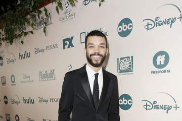 Justice Smith 2020 Hulu Golden Globe Awards After Party