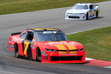 Justin Allgaier Mid-Ohio Sports Car Course - Day 1