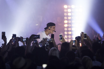 Justin Bieber Calvin Klein Jeans Host Event With Special Appearance By Justin Bieber & J Park