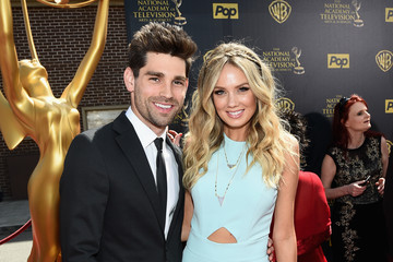 Justin Gaston Melissa Ordway The 42nd Annual Daytime Emmy Awards - Red Carpet