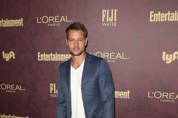 Justin Hartley FIJI Water At Entertainment Weekly Pre-Emmy Party