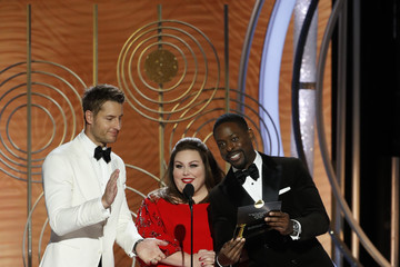 Justin Hartley Sterling K. Brown 76th Annual Golden Globe Awards - Show