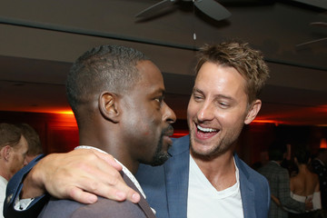Justin Hartley Sterling K. Brown Entertainment Weekly And L'Oreal Paris Hosts The 2018 Pre-Emmy Party - Inside