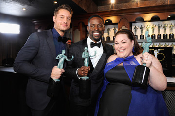Justin Hartley Sterling K. Brown 25th Annual Screen Actors Guild Awards - Trophy Room