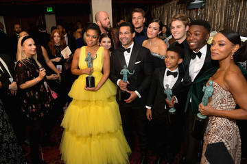 Justin Hartley Susan Kelechi Watson 25th Annual Screen Actors Guild Awards - Media Center