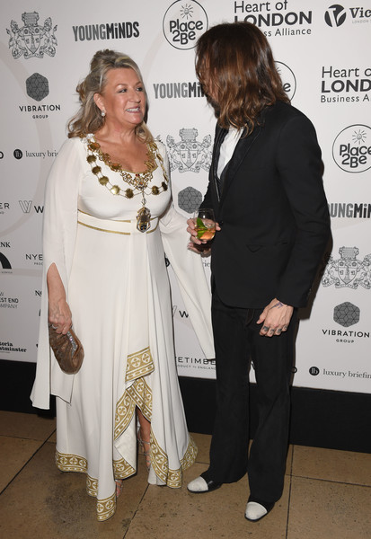 The Lord Mayor Of Westminster's Under The Painted Sky Gala [fashion,event,fashion design,suit,formal wear,style,mayor,justin hawkins,painted sky gala,westminster,westminster lindsey hall,banqueting house,england,london,under the painted sky gala]