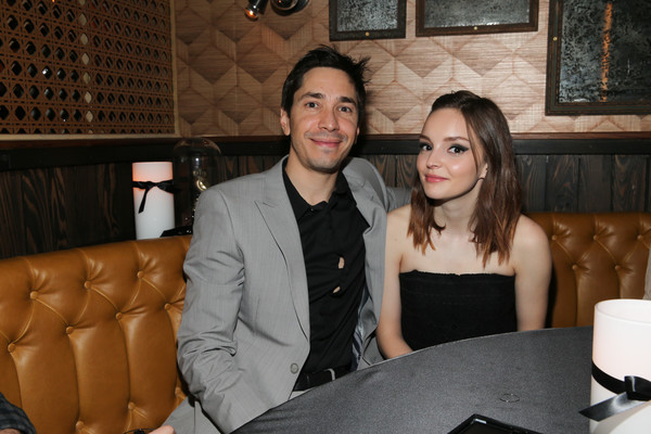 Justin Long and Lauren Mayberry