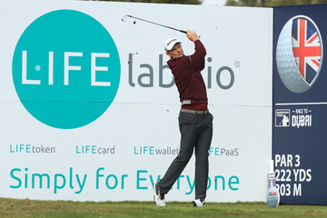 Justin Rose Sky Sports British Masters - Day One