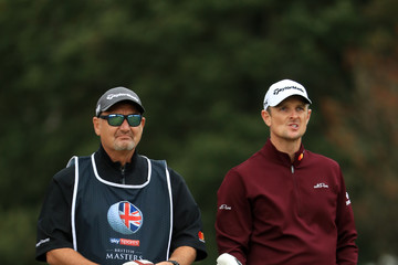 Justin Rose Mark Fulcher Sky Sports British Masters - Day One