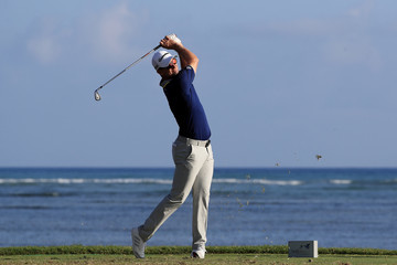 Justin Rose Sony Open in Hawaii - Round One