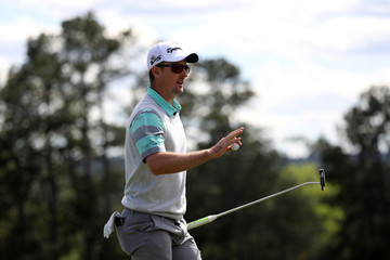 Justin Rose The Masters - Round One