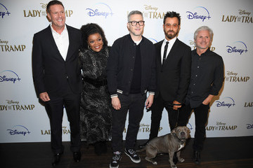"""Justin Theroux Cinema Society Hosts Special Screening Of Disney+'s """"Lady And The Tramp"""" - Red Carpet"""
