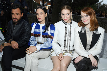 Justin Theroux Louis Vuitton 2019 Cruise Collection: Front Row