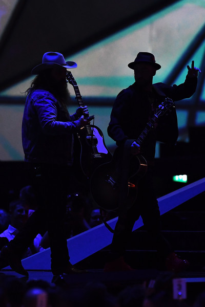 eb3683033b52 Justin Timberlake and Chris Stapleton Photos»Photostream · Pictures · The BRIT  Awards 2018 - Show