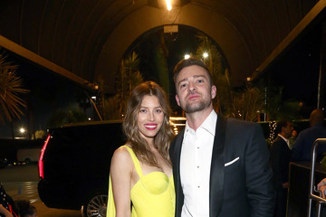 Justin Timberlake Jessica Biel Michael Che and Colin Jost's Emmys After Party Presented by Google